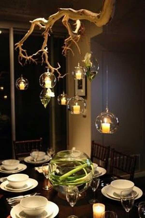 Tree Branch Chandeliers