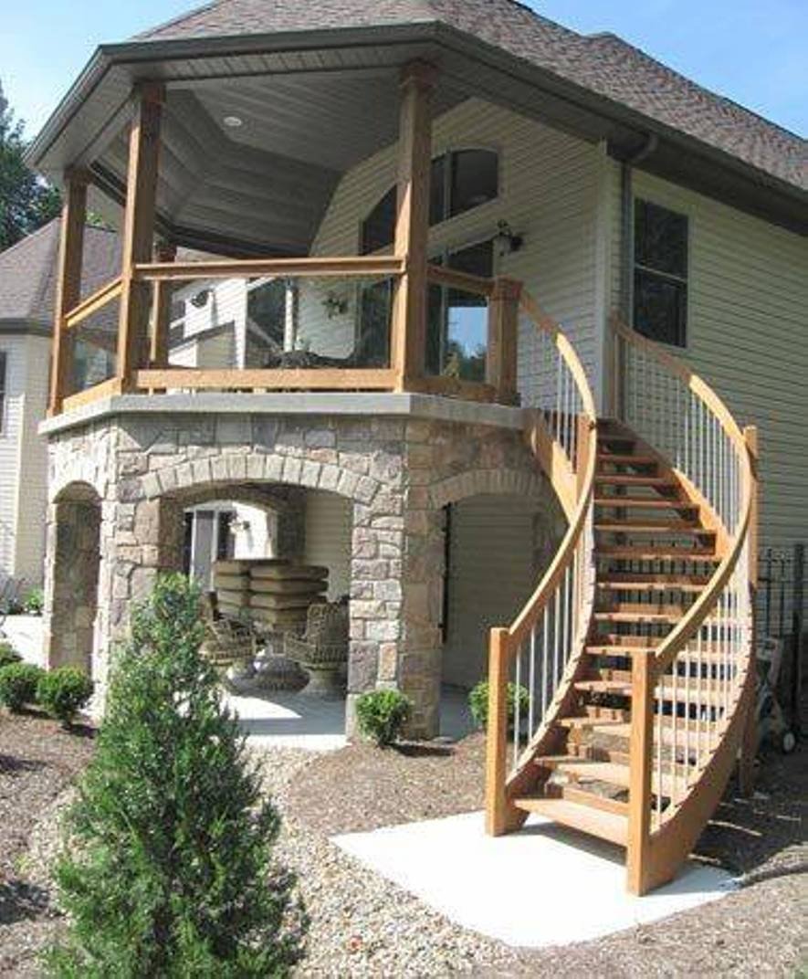 10 Creative ideas for outdoor stairs - Little Piece Of Me on Backyard Patio Steps id=83618