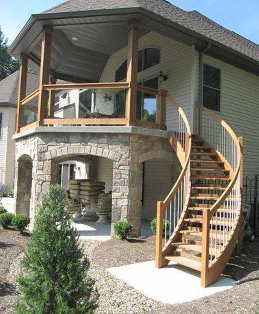 10 Creative Ideas For Outdoor Stairs Little Piece Of Me | Outside Stairs Design For House