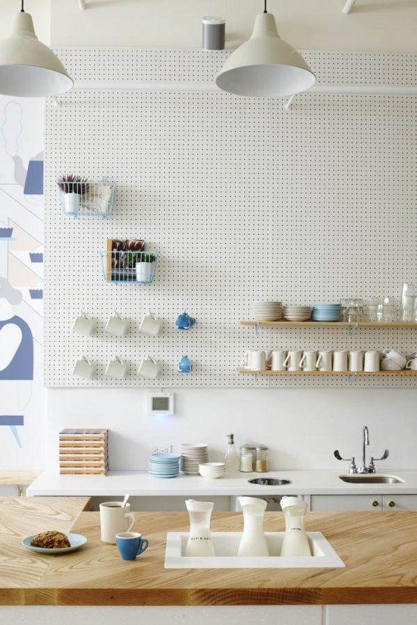 pegboard kitchen ideas