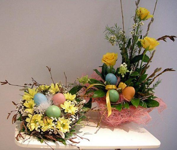 Easter floral designs