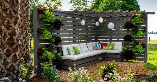 Outdoor Garden Seating Area