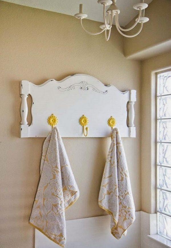 diy towel rack
