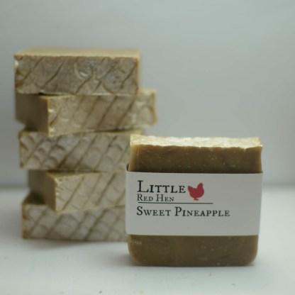 sweet pineapple soap