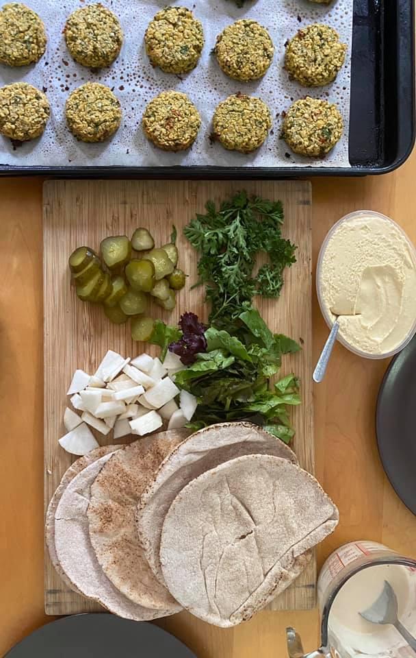 falafel dinner