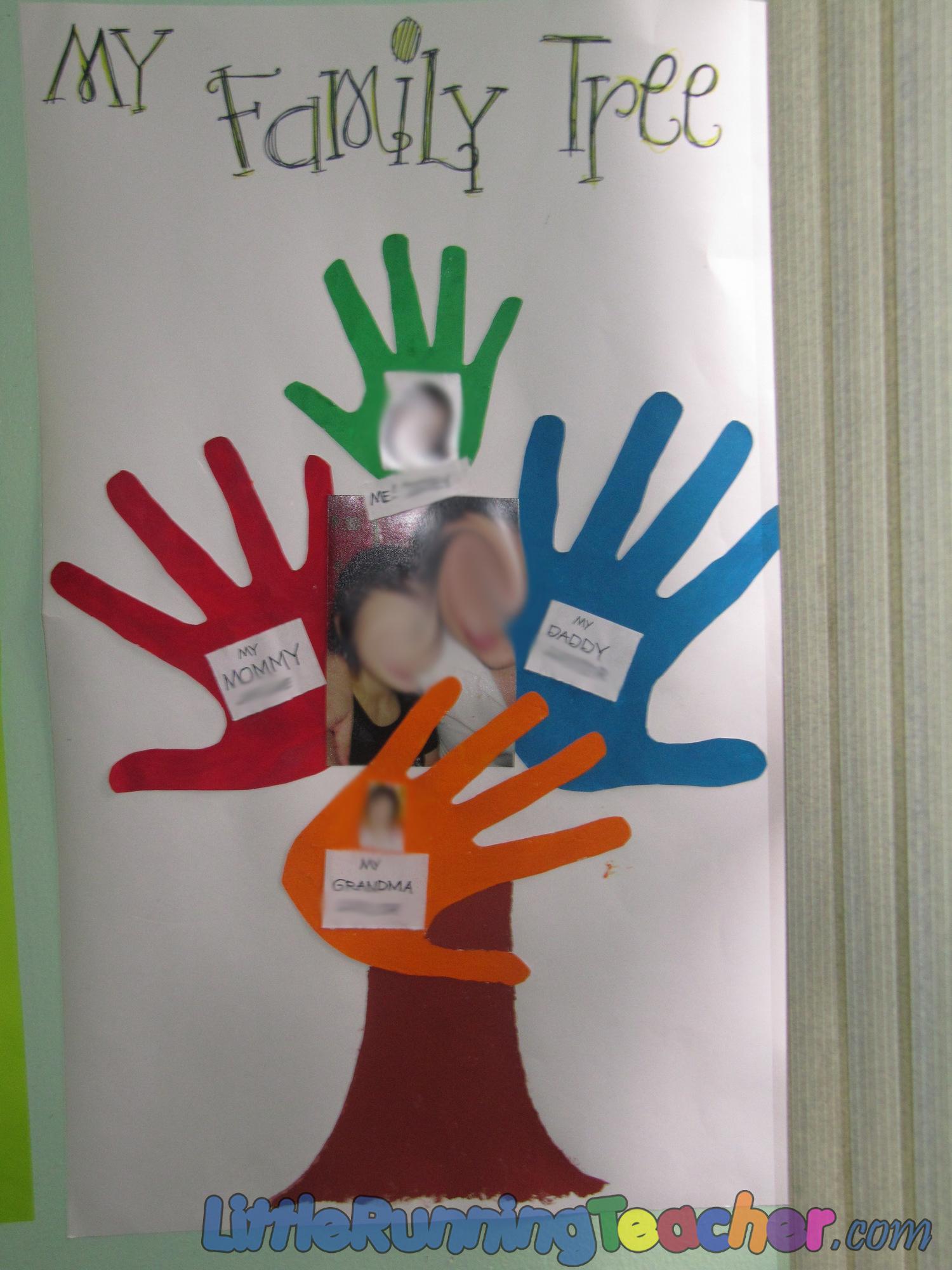Family Tree In Preschool