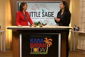 Little Sage on Kababayan Today with G. Töngi