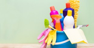 Cleaning Schedule for the Overwhelmed