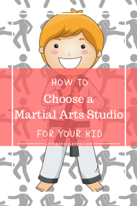How to Choose a Martial Art Studio for Your Kid