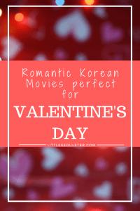 Romantic Korean Movies for Valentine's Day
