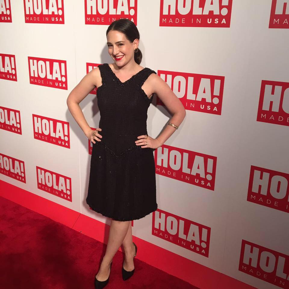 Alejandra recently attended the 'Hola USA' magazine launch party.