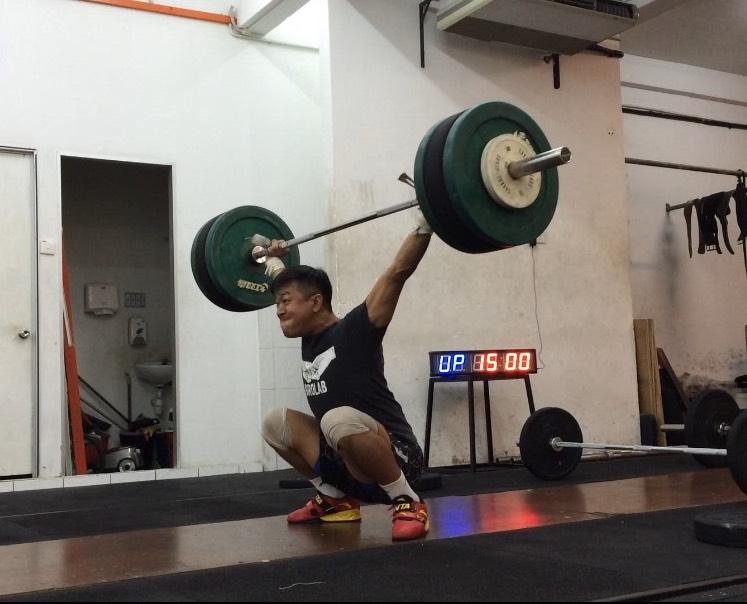 Julian khoo brolab weightlifting