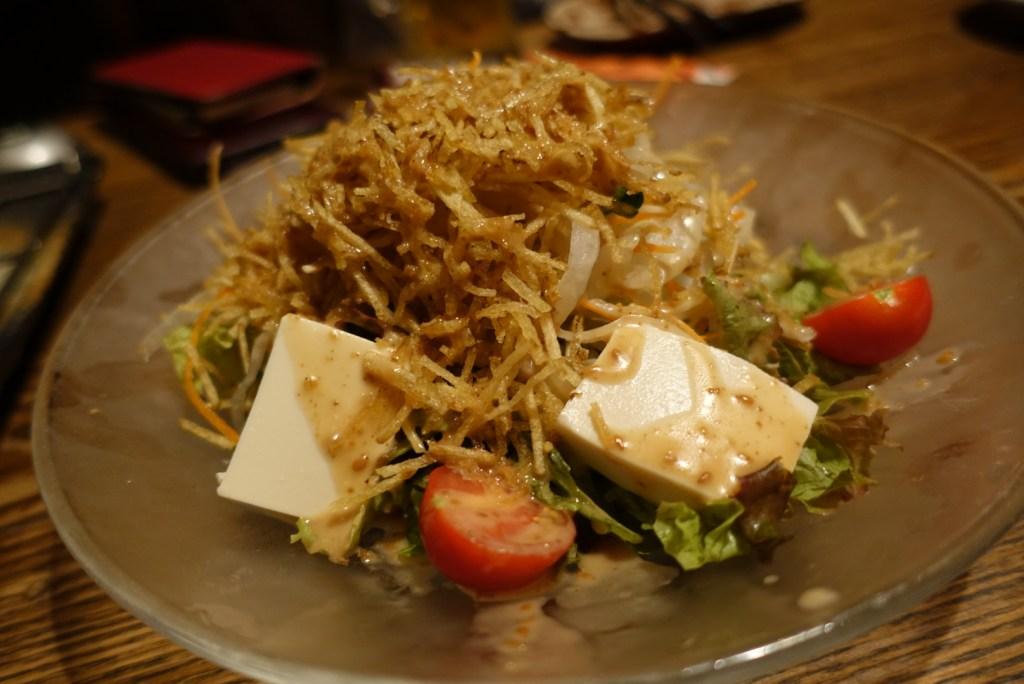 tokyo izakaya ebisu tofu