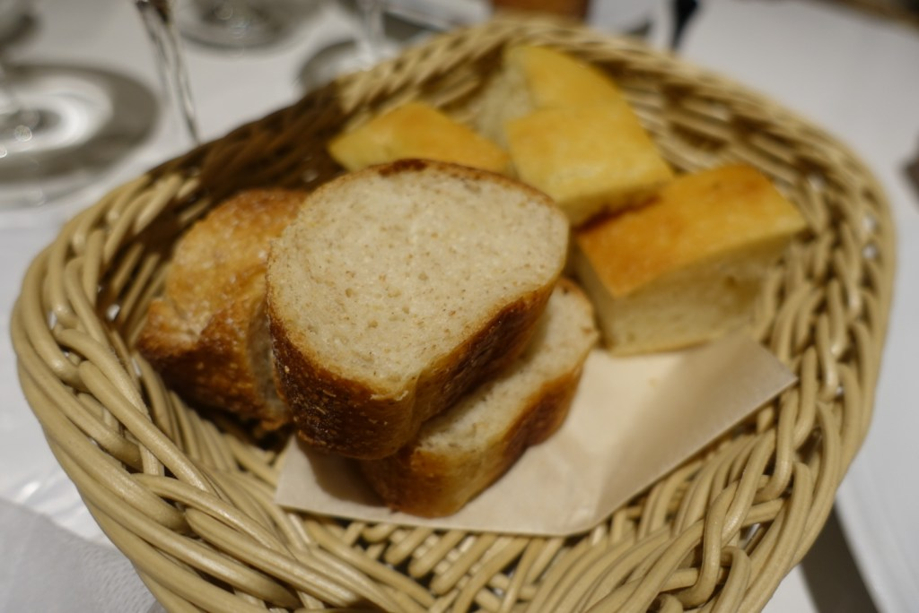 Soft breads as a side.