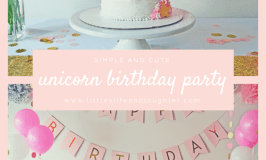Unicorn Birthday Party