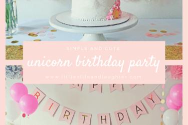 Unicorn Birthday Party