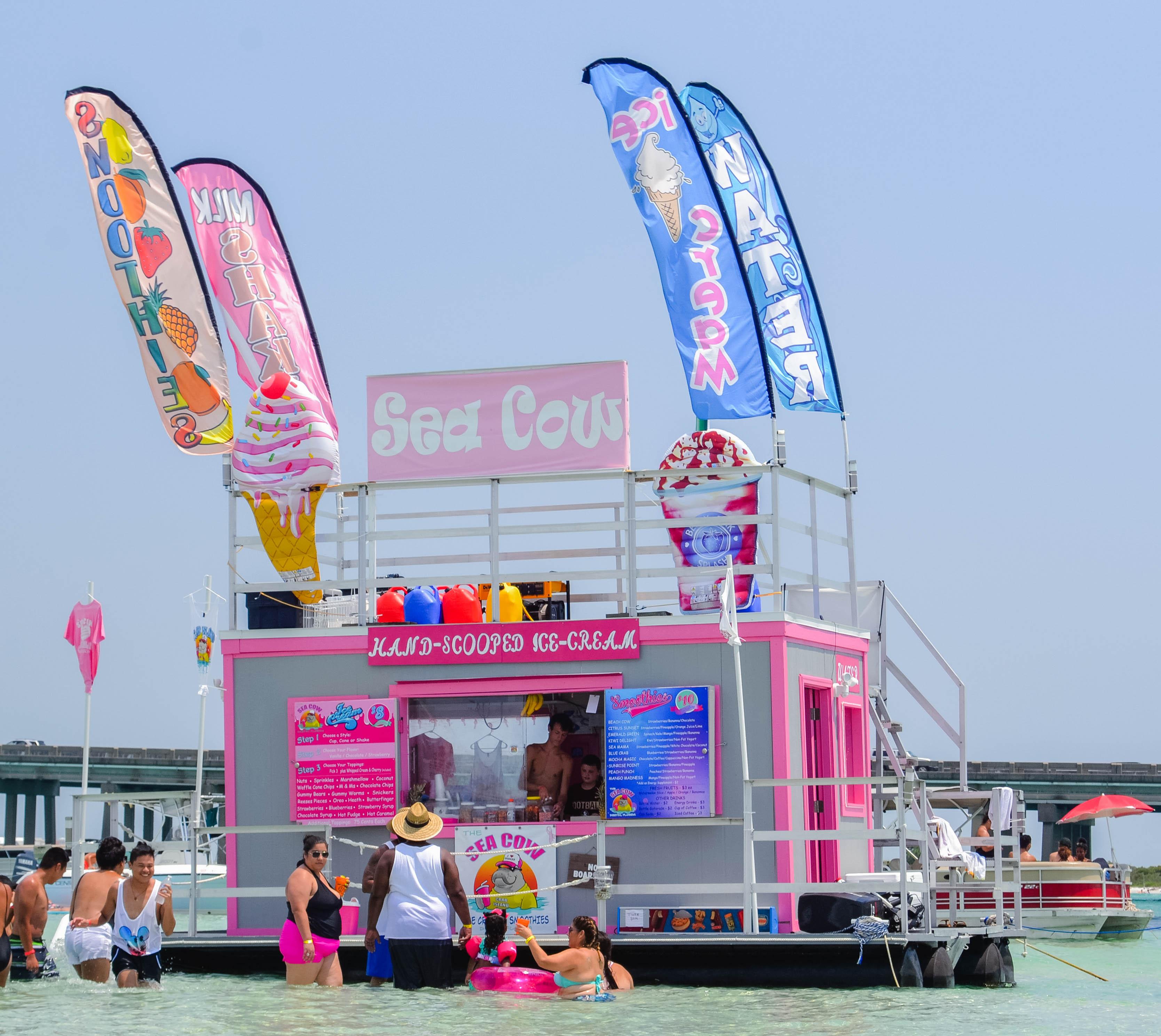 Destin Fl: Crab Island In Destin, Florida: What Locals Don't Tell You
