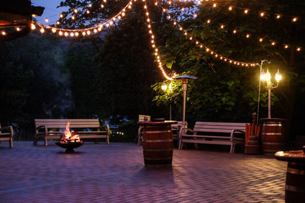 outdoor patio and deck lighting