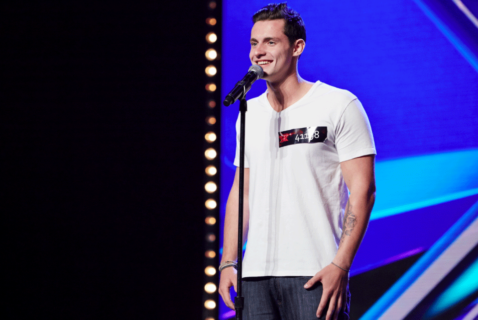 Mitchell Thompson commences his X Factor journey