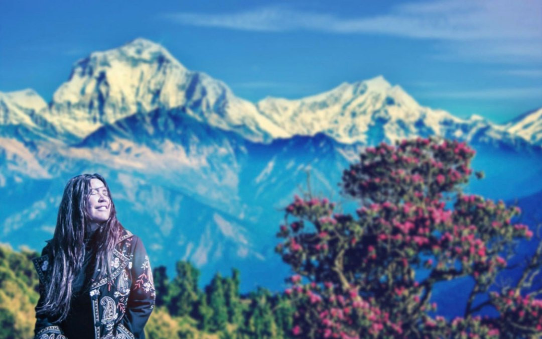 Join Toni Childs on a once in a life time experience trekking Nepal!