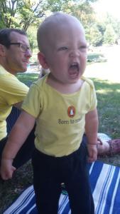 Rrrraaaaaaawwwwwwrrrr! (Photo credit: Julie Miesionczek)