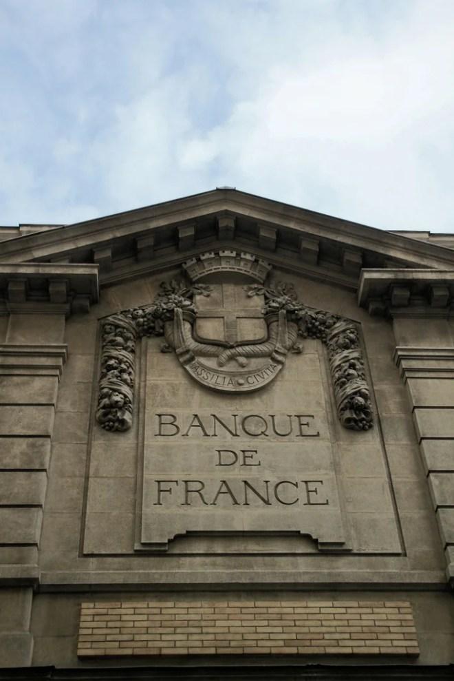 banque de france photo