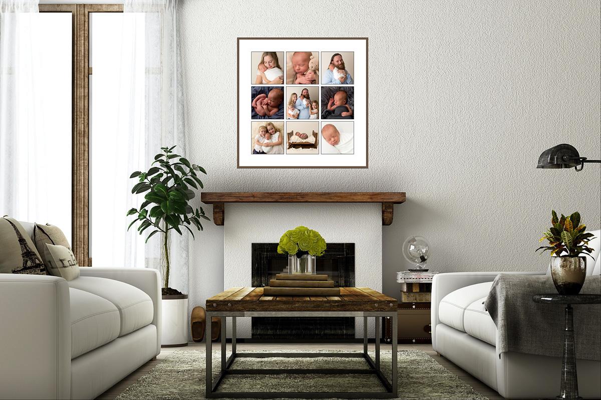 lounge room storyboard newborn