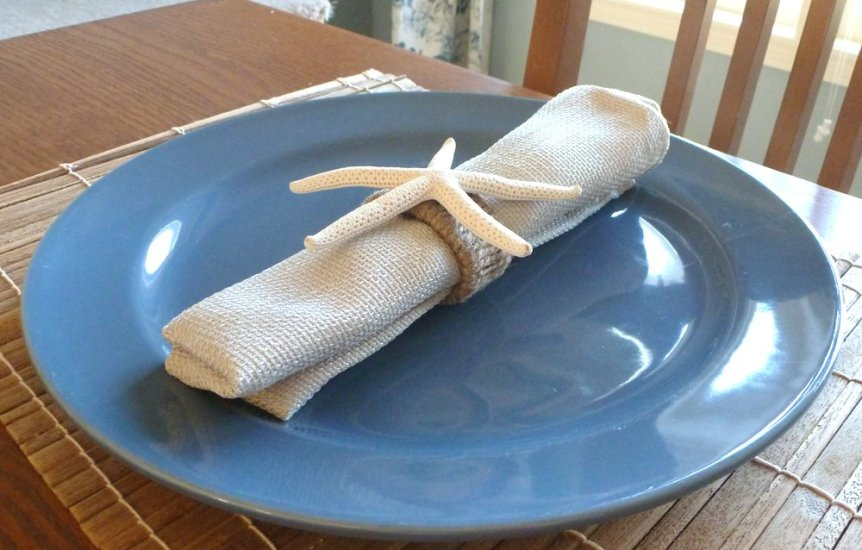 Star fish napkin holders