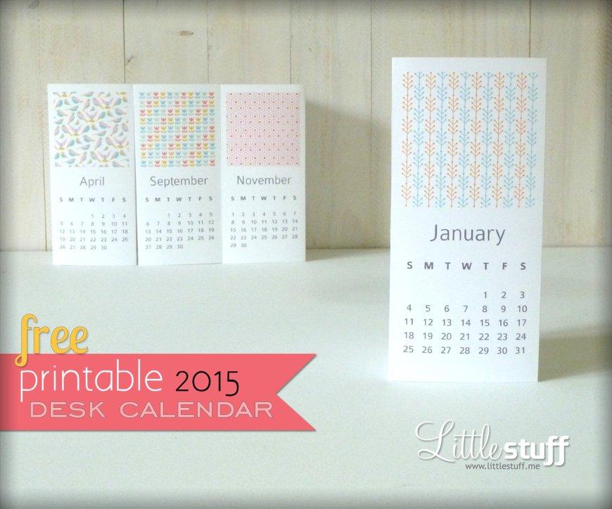 Free 2015 Printable Calendar