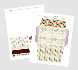 Free Printable Layered Birthday Card Template