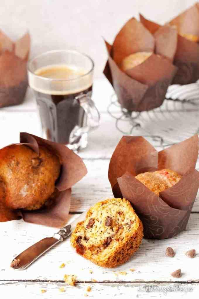 Orange Drizzle Muffins