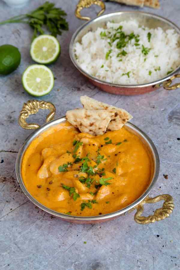 A creamy coconut vegan korma that can be ready in under half an hour...