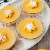 Mango Pudding {video recipe}