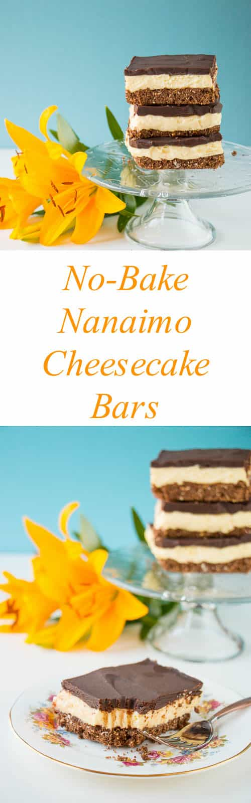 A Creamy Layer Of Vanilla Custard Flavored Cheesecake Sandwiched Between A Chocolatey Coconut Cookie Crumb Base