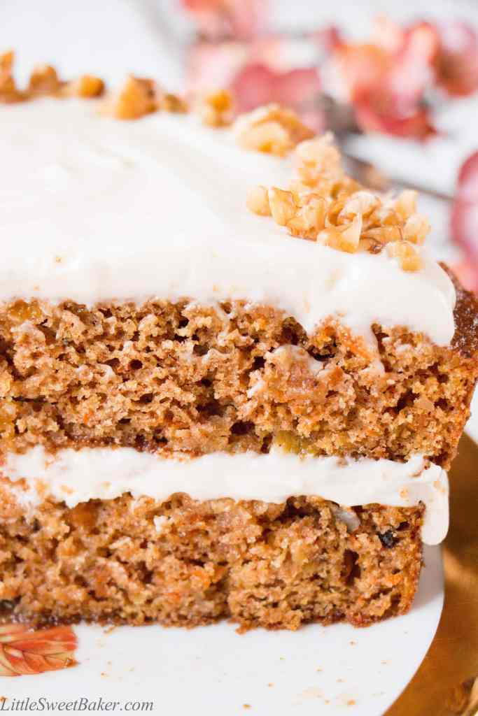 Carrot Cake Made With Coconut Flour