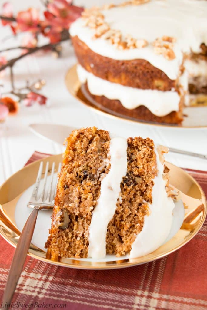 Healthy Carrot Cake Whole Wheat