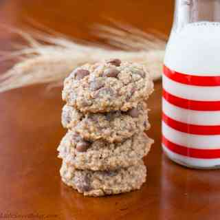 Soft Oatmeal Chocolate Chip Cookies
