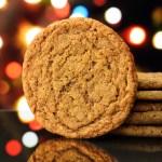 Vegan Ginger Molasses Cookies