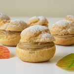 Pumpkin Spice Cream Puffs