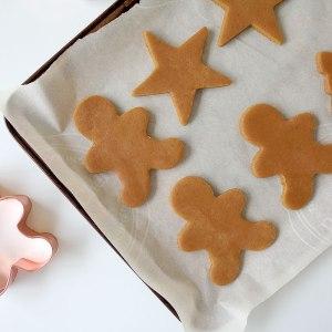 Vegan Gingerbread Cookies