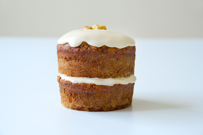 Vegan Spiced Mini Carrot Cake