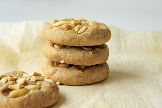 Soft Vegan Peanut Butter Cookies
