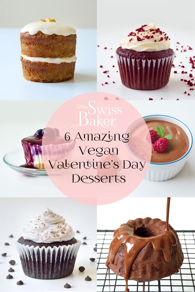 Vegan Valentine's Day Desserts
