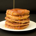 Fluffy Vegan Molasses Pancakes