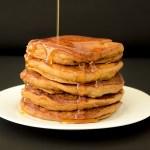 Fluffy Vegan Molasses Pancakes