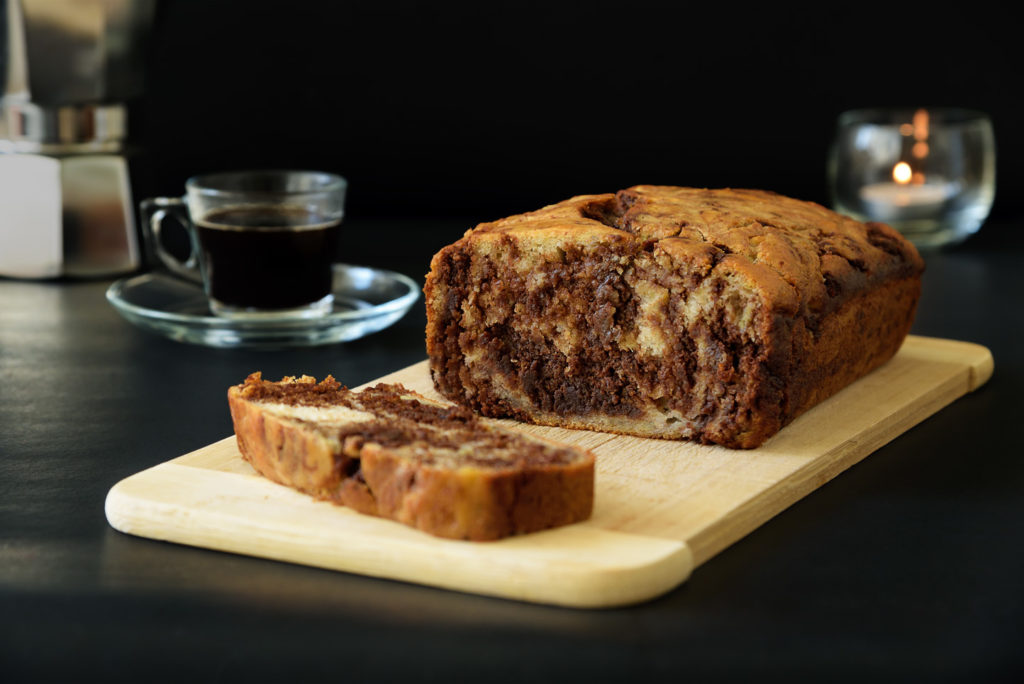 My Recipes Marbled Chocolate Banana Bread