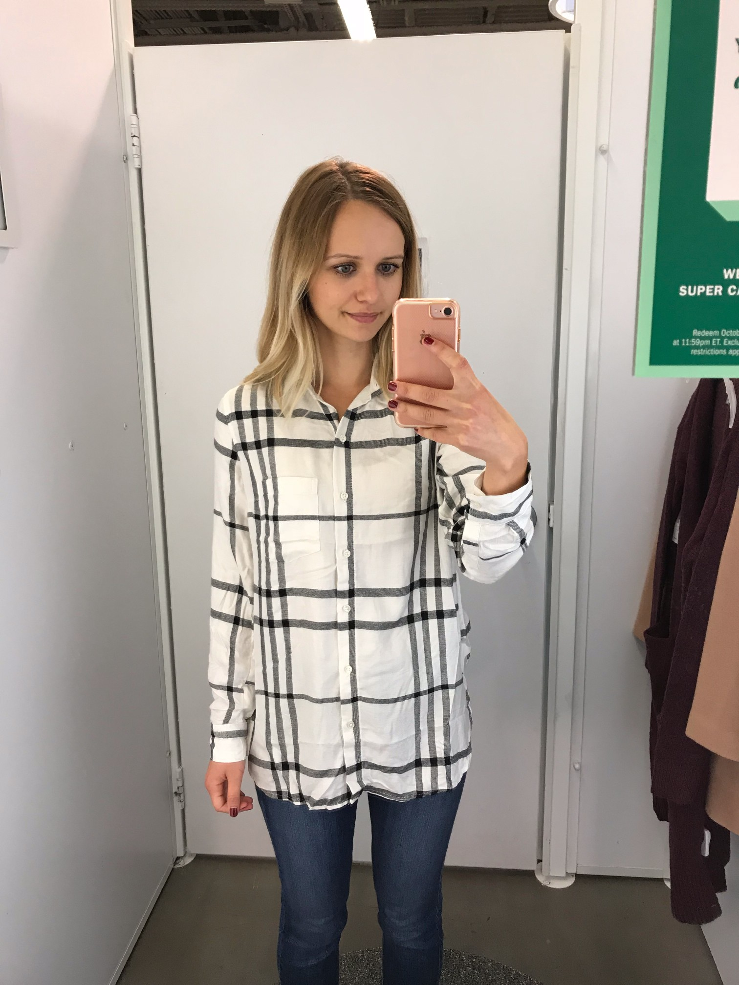 Old Navy Relaxed Plaid Classic Shirt for Women | Little Things Olga