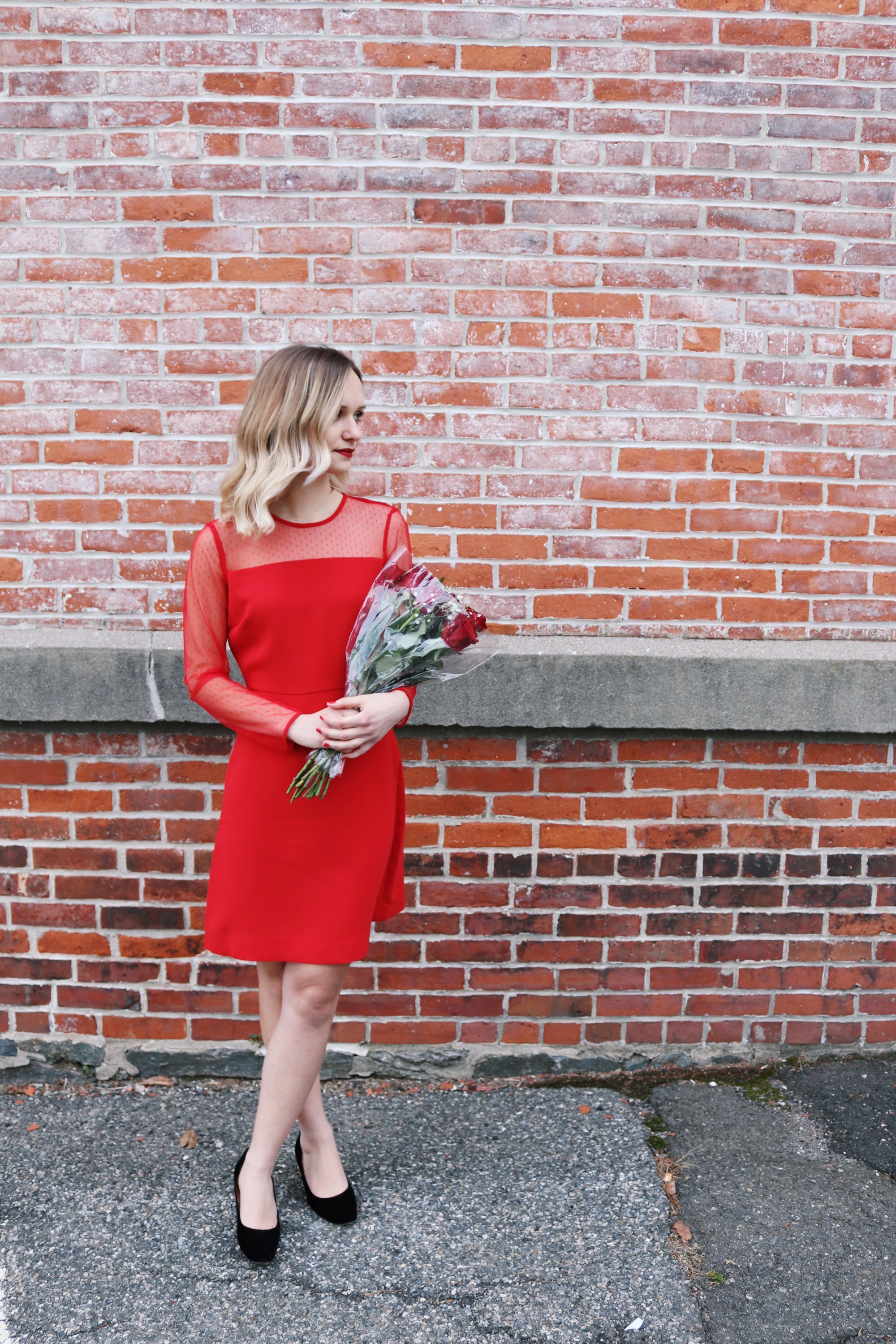 Why I like Being Single on Valentine's Day + What to Wear | Little Things Olga