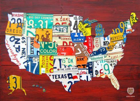 United States License Plates