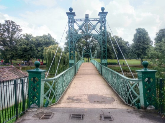 Suspension Bridge, River Severn, Shrewsbury